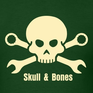 Cars Tool Pirate Skull (+ your Text) T-Shirts - Men's T-Shirt