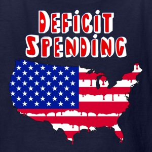 Deficit Spending America For Dark Shirts Kids' Shirts - Kids' T-Shirt