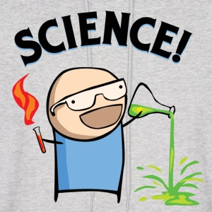 SCIENCE! (customizable color) - Men's Hoodie