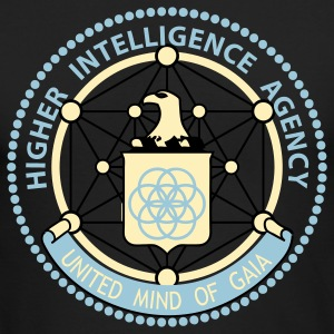 Higher Intelligence Agency Men's AA Tee - Men's Long Sleeve T-Shirt by Next Level