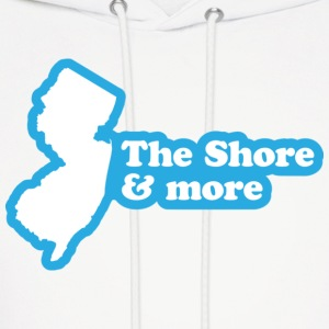 New Jersey - The Shore and More Hoodie - Men's Hoodie