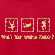 What's Your Favorite Position? Cream T-Shirts