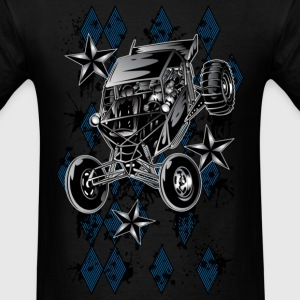 Checkerboard Buggy T-Shirts - Men's T-Shirt
