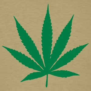 Marijuana Leaf T-Shirts - Men's T-Shirt