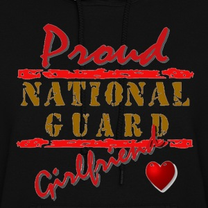 Proud National Guard Girlfriend  - Women's Hoodie
