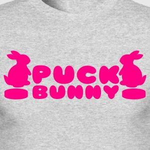 Pucky bunnies Bunny Hockey ladies Long Sleeve Shirts - Men's Long Sleeve T-Shirt by Next Level