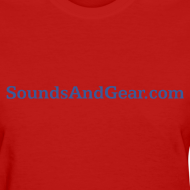 Design ~ SAG womens tee red