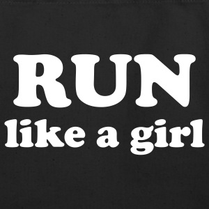 run like a girl Bags  - Eco-Friendly Cotton Tote