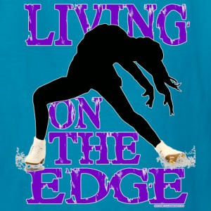 ling on the edge - Kids' T-Shirt