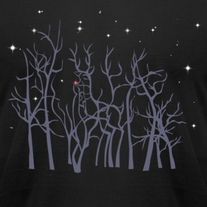 Roudolf  in the Woods T-Shirts - Men's T-Shirt by American Apparel