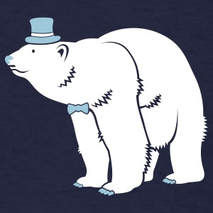 Sir Polar Bear - Men's T-Shirt