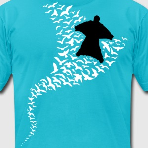 Fly Like The Birds - Men's T-Shirt by American Apparel