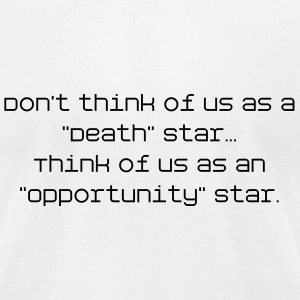 Opportunity Star - Men's T-Shirt by American Apparel