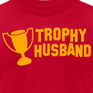 trophy husband T-Shirts - Men's T-Shirt by American Apparel
