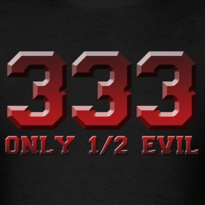 Only half evil - Men's T-Shirt
