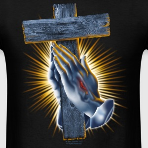 Blessed Hands by RollinLow T-Shirts - Men's T-Shirt