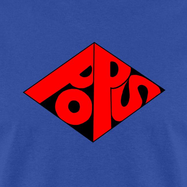 PoPS Logo Men's Tee-Standard