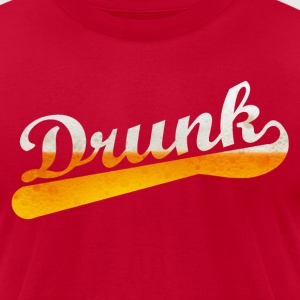 Drunk - Men's T-Shirt by American Apparel
