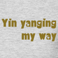 Design ~ Yin yanging long sleeve T