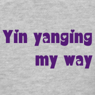 Design ~ Yin yanging plain-tee