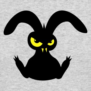 bad rabbit hare bunny bunnies eyes evil Long Sleeve Shirts - Men's Long Sleeve T-Shirt by Next Level