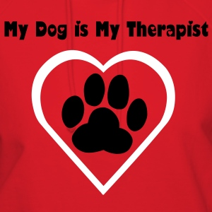 My Dog Is My Therapist - Women's Hoodie