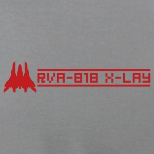 RVA-818 X-LAY (back) T-Shirts - Men's T-Shirt by American Apparel