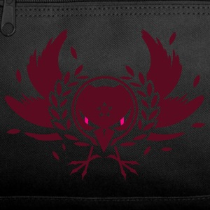 A crow with a laurel wreath and dangerous eyes Bags  - Duffel Bag