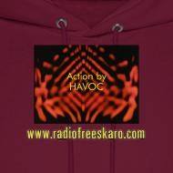 Design ~ Action by HAVOC (Hooded Sweatshirt)