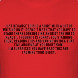 Read this Shirt - Men's T-Shirt
