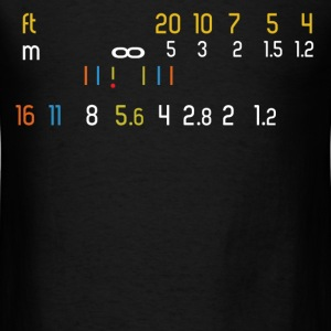 Manual Lens Photographer - Men's T-Shirt