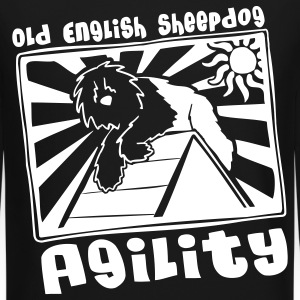 Old English Sheepdog Agility Sweatshirt - Crewneck Sweatshirt