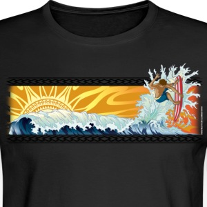 Riding the wave - Men's Long Sleeve T-Shirt