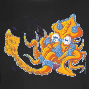Techno Squid - Men's Long Sleeve T-Shirt