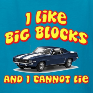 I Like Big Blocks And I Cannot Lie Kids' Shirts - Kids' T-Shirt