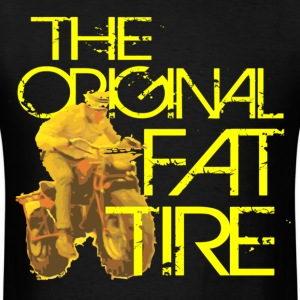 Original Fat Tire - Light - Men's T-Shirt