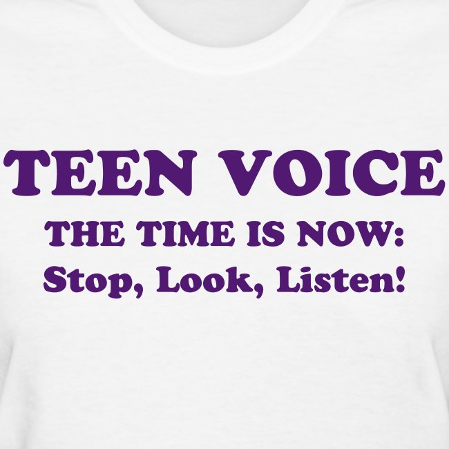 Teen Voice Women's Shirt