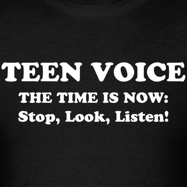 Teen Voice Men's Shirt