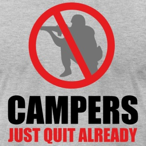 Campers Quit - Men's T-Shirt by American Apparel