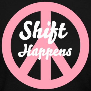 Shift Happens - Women's Long Sleeve Jersey T-Shirt