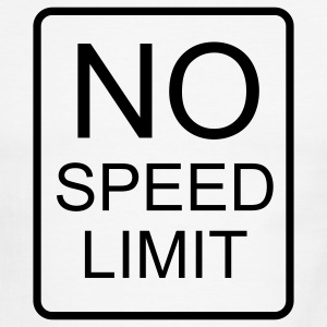 NO Speed Limit - Men's Ringer T-Shirt
