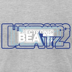 beats T-Shirts - Men's T-Shirt by American Apparel