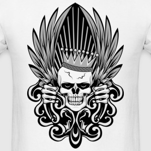 Gothic King Skull T-Shirts - Men's T-Shirt