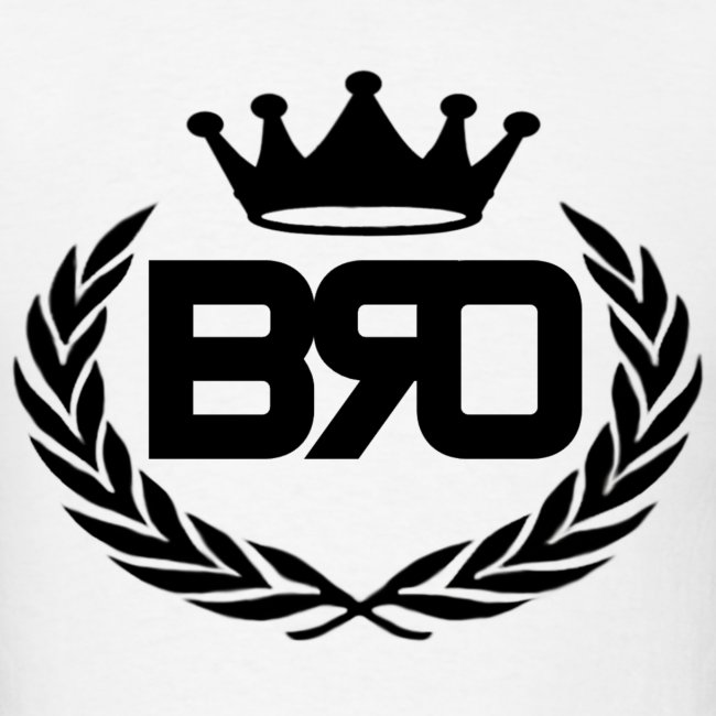 Bros Like This Site Bro King Logo Mens T Shirt