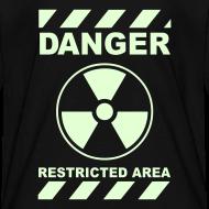 Design ~ Funny Radioactive Label-Glow-In-The-Dark
