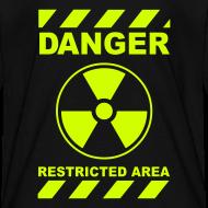 Design ~ Funny Radioactive Label-Neon Yellow