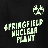 Design ~ SPRINGFIELD NUCLEAR PLANT Glow-In-The-Dark