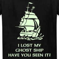 Design ~ I LOST MY GHOST SHIP. HAVE YOU SEEN IT? Glow-In-The-Dark
