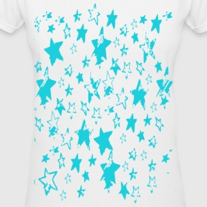 Women's Million Stars V-Neck Tee - Women's V-Neck T-Shirt
