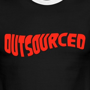 Outsourced T-Shirts - Men's Ringer T-Shirt